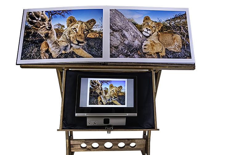 SAFARI-The-Fine-Art-Book-Benny-Rebel-Tablet-PC-DSC00556